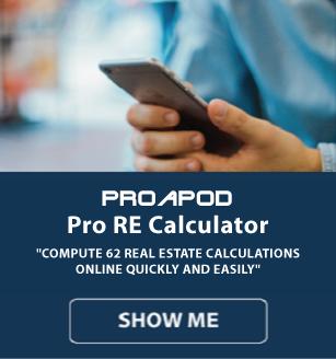 man accessing real estate calculators